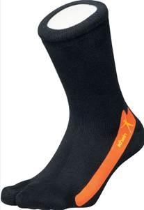 Correctie sokken Hamer/klauw teen